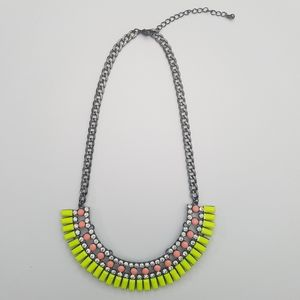 Jewelry - Neon Bling Statement Necklace